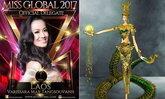 ເປີດເຜີຍແລ້ວ ແບບຊຸດ ແລະ ສ່ວນຫົວຂອງຊຸດປະຈຳຊາດລາວ ທີ່ ເມ ວະລິສະລາ ຈະໃສ່ເຂົ້າປະກວດ Miss Global 2017