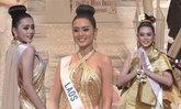 ຄັ້ງທຳອິດຂອງລາວ ມີມີ່ ພູນຊັບ ເຂົ້າຮອດຮອບ 8 ຄົນສຸດທ້າຍໃນ Miss International 2017