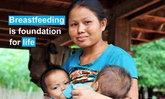 ອົງການ Unicef ເຜີຍ ເດັກນ້ອຍ 3 ໃນ 5 ຄົນ ບໍ່ໄດ້ກິນນໍ້ານົມແມ່ ໃນຊົ່ວໂມງທຳອິດຫຼັງເກີດໃໝ່