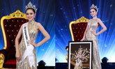 ມິມີ່ ພູນຊັບ ພົນໂຍທາ ໂດດເດັ່ນ ໃນມື້ອໍາລາຕໍາແໜ່ງ Miss International Laos