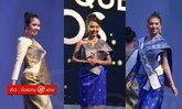 ງົດງາມຜ້າໄໝລາວ ເທິງເວທີປະກວດທູດວັດທະນະທຳແດນຈຳປາ Miss Tourism Queen Laos 2018