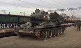 ຣັດເຊຍ ຕ້ອນຮັບລົດຖັງ T-34 ຈາກ ສປປ ລາວ ຢ່າງສົມກຽດ