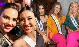"""ປະມວນພາບ """"ເມ ວິຈິດຕາ"""" ໃນໄລຍະທຳອິດຂອງການເກັບໂຕ Miss Universe 2019"""