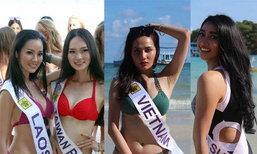 ປະມວນພາບເກັບຕົວຂອງສາວງາມ 55 ປະເທດ ເພື່ອຊີງຕໍາແໜ່ງ Miss Tourism Queen International