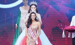 """ໄທກໍໄດ້ແລ້ວ """"ນິໂຄລີນ ພິຊາພາ"""" ງາມສົມມຸງກຸດ ເຈົ້າຂອງຕຳແໜ່ງ Miss Thailand World 2018"""