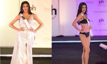 ນຸ້ຍ ສຸພາພອນ Miss Universe Laos ກັບຮອບ Preliminary ໃນຊຸດລອຍນໍ້າ ແລະ ຊຸດລາຕີ