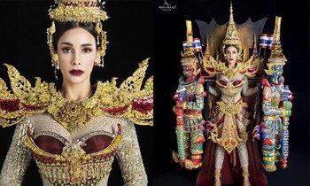 """""""ໂກໂກ້ ອາຣະຢະ"""" ພ້ອມຊຸດ ກຸງເທບມະຫານະຄອນ ກຽມອວດໂສມເທິງເວທີ Miss Grand International 2019"""