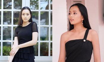 """""""ມີມີ່ ພູນຊັບ"""" Miss International Laos 2017 ງາມແຮງ ໃນຊຸດໂທນສີດຳ"""
