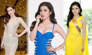 Nguyen Tran Huyen My ມີສແກຣນຫວຽດນາມ ທີ່ຄົນທົ່ວໂລກເຊຍແລະເຕັງໃຫ້ຕິດ TOP5 Miss Grand International