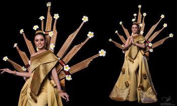 ງົດງາມສົມຄວາມເປັນລາວ ກັບຊຸດປະຈໍາຊາດຂອງ ມິມີ່ ພູນຊັບ Miss International Laos 2017
