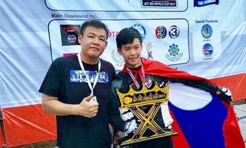 ເຈັດສະກີລາວ ສ້າງຜົນງານຄັ້ງປະຫວັດສາດ ຄວ້າອັນດັບ 3 ລາຍການ Jet ski World Cup Thailand 2017