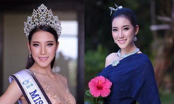 """""""ຕິກນໍ້າ ກະດຸມເພັດ"""" ພົກຄວາມໝັ້ນໃຈມາເຕັມຄວ້າມຸງກຸດ Miss Laos World 2018"""