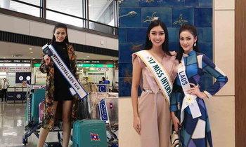 """ພາບຫຼ້າສຸດ """"ບາບີ້ Miss International Laos 2018"""" ໃນການຮ່ວມປະກວດເວທີລະດັບສາກົນທີ່ຍີ່ປຸ່ນ"""