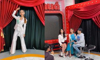 """""""ປໍ້ ຕະການ"""" ສາວປະເພດສອງ Miss Queen Laos 2019 ຮ່ວມສຳພາດລາຍການຊື່ດັງທາງຊ່ອງ GMM 25"""