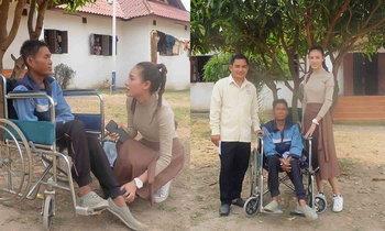 """ໃຈບຸນ! """"ເຈນນີ້ Miss World Laos"""" ຊ່ວຍເຫຼືອຜູ້ປ່ວຍ-ຄົນຊະລາ ພ້ອມຊວນສັງຄົມຮ່ວມປະກອບສ່ວນ"""