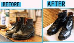 วิธีดูแลรองเท้าหนัง คู่เก่ง