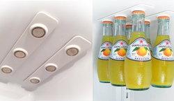 อุปกรณ์แขวนขวด ช่วยเพิ่มพื้นที่ในตู้เย็น