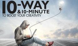 10 วิธีเพิ่มความคิดสร้างสรรค์ของคุณ