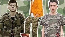 Street Fashion : แฟชั่นลายทหาร