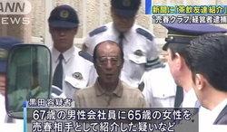 อึ้ง! คุณปู่ยุ่นวัย 70 ปี ถูกจับฐานหาคู่นอนให้ลูกค้าสูงวัย ทำมานานร่วม 10 ปี