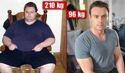 Mike Waudby จากคนอ้วน สู่ หนุ่มหล่อ