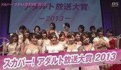 สรุปผลรางวัล Adult Broadcasting Awards 2013 ประเทศญี่ปุ่น