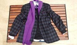 วิธีผูกผ้าพันคอ สำหรับผู้ชาย