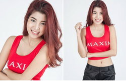 สวย เซ็กซี่ ร้อนแรง เอวา-กมลวรรณ ฟักอ่อน ผู้เข้าประกวด MISS MAXIM THAILAND 2014