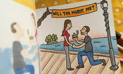 แบบนี้ต้องเซย์เยส! … วิธีขอแต่งงานสุดเก๋ของศิลปิน Flipbook