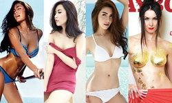 6 สาวเซ็กซี่บนปกนิตยสาร เดือนกุมภาพันธ์