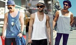 เสื้อกล้ามผู้ชายเท่ๆ หลากสไตล์