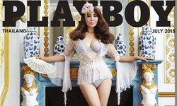 54 ยังเซ็กซี่ไม่สร่างซา ต่าย เพ็ญพักตร์ ลงปก Playboy