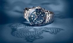 """มหัศจรรย์แห่งเรือนเวลาโครโนกราฟสีน้ำเงิน """"Seamaster Diver 300M"""""""