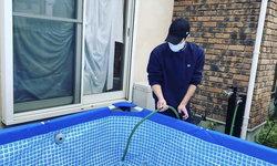 สระว่ายน้ำดัดแปลงช่วงโควิด-19 ของ ไดยะ เซโตะ นักกีฬาว่ายน้ำเหรียญทองแดงโอลิมปิก