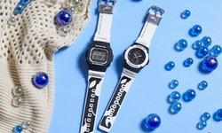 นาฬิการักษ์โลก Casio Love The Sea And The Earth มาพร้อมลวดลายวาฬเพชฌฆาต