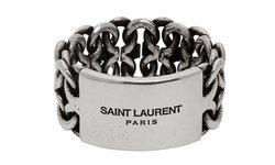Saint Laurent ปล่อยแหวนดีไซน์เรียบ มาในสองโทนสีสุดคลาสสิก