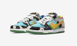 Ben & Jerry's x Nike SB Dunk Low แรงบันดาลใจจากไอศกรีม