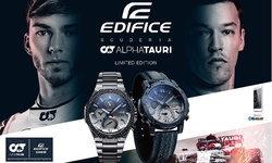 Casio จับมือทีมเอฟวัน Scuderia AlphaTauri เปิดตัวนาฬิกา EDIFICE รุ่นใหม่