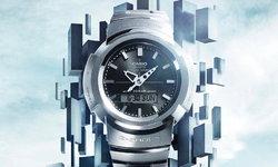 CASIO AWM-500 นาฬิกาอนาล็อก-ดิจิตอล รุ่นแรกของ G-SHOCK จากปี 1989