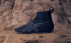 TAI-CHI-REB อัพเดตรองเท้าดั้งเดิมของ Onitsuka Tiger ด้วยดีไซน์ผ้าถักเพื่อลุคร่วมสมัย