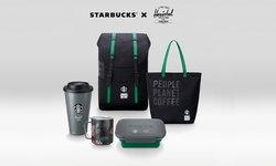 สตาร์บัคส์ เปิดตัวคอลเลคชั่น Starbucks x Herschel โดดเด่นด้วยวัสดุรีไซเคิล