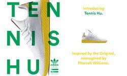 """อาดิดาส """"เทนนิส ฮิว (Tennis Hu)"""" ผลงานระดับมาสเตอร์พีชคู่ใหม่"""