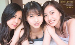 ความฮือฮาบังเกิด! เมื่อ 3 สาว 3 วง J-pop ดัง แชะภาพกราเวียร์ร่วมกัน