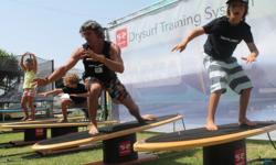 Drysurf กิจกรรมฝึกซ้อมกระดานโต้คลื่นภายในบ้าน