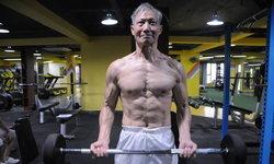 ไอดอลหนุ่ม ๆ ปู่ชาวจีนวัย 70 มุ่งเล่นกล้าม-ออกกำลังกายเพื่อสุขภาพ