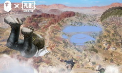 BAPE ร่วมแจม PUBG Mobile ออกไอเทมคอลเลคชันพิเศษภายในเกม