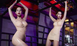 """""""มาช่า วัฒนพานิช"""" สวมชุดยางรัดรูป Latex Dress ขึ้นปก Playboy"""