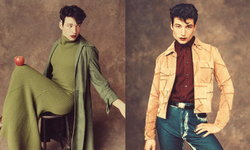 Ezra Miller สวมชุดผู้หญิงขึ้นปกนิตยสาร GQ