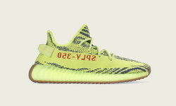 Yeezy Boost 350 V2 Semi Frozen Yellow วางจำหน่าย 14 ธันวาคมนี้