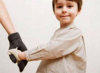 ถุงมือกันเด็กหลุดมือ